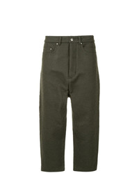 Rick Owens Collapse Cropped Jeans