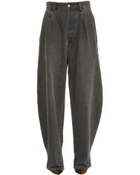 Isabel Marant Extreme Oversize Cotton Denim Jeans