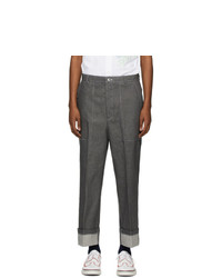 Thom Browne Grey Patch Pocket Jeans