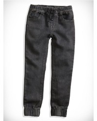 GUESS Little Boy Acid Wash Comfort Denim Joggers