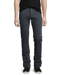 Jacob Cohen Straight Leg Stretch Denim Jeans Gray