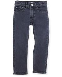 Burberry Stretch Denim Skinny Jeans Charcoal Size 4 14