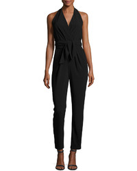 Heritage crepe halter jumpsuit medium 4416282