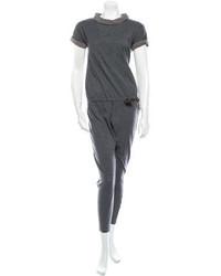Brunello Cucinelli Wool Jumpsuit