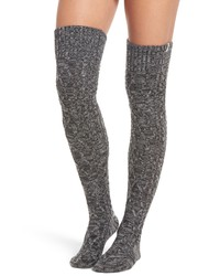 uggr Ugg Cable Knit Over The Knee Socks