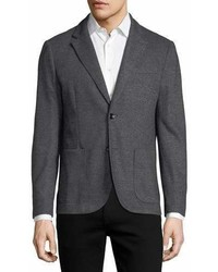 The good man brand honeycomb melange knit blazer medium 6985473
