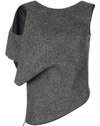 Maison Margiela Single Sleeved Knitted Top