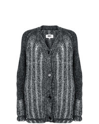 Charcoal Knit Cardigan