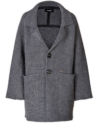 Dsquared2 Wool Cashmere Blend Oversized Coat