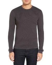 Theory Savaro Breach Texture Cotton Knit Sweater