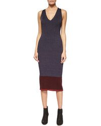 Rag & Bone Kristin Ribbed Knit Midi Dress