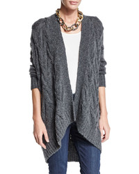 Fisher project cable knit cardigan medium 447668