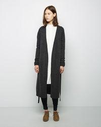Yohji Yamamoto Gown Cardigan