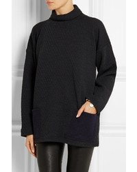 1205 Harbour Waffle Knit Wool Jersey Top