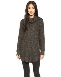 Free People Dylan Tweedy Turtleneck Pullover