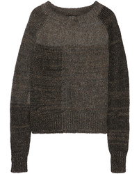 Isabel Marant Naoko Paneled Knitted Sweater