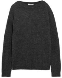 Women s Charcoal Knit Oversized Sweaters by Acne Studios   Women s ... a98131dd490