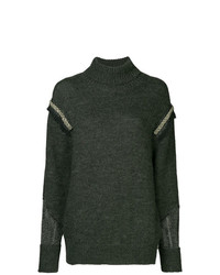 Muller Of Yoshiokubo Turtle Neck Fitted Sweater
