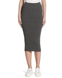 Armani Jeans Ribbed Knit Skirt