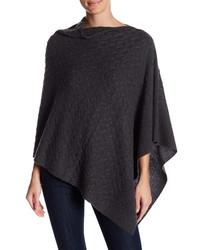 Griffen cashmere cashmere twisted knit asymmetric poncho medium 6723481