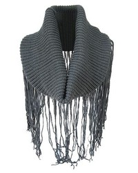 ChicNova Pure Color Long Tassel Knitted Scarves