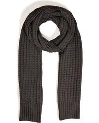Maison Martin Margiela Cotton Wool Waffle Knit Scarf
