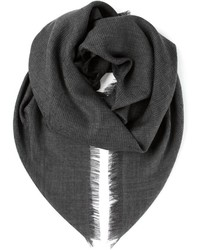 Gucci Ribbed Knit Scarf