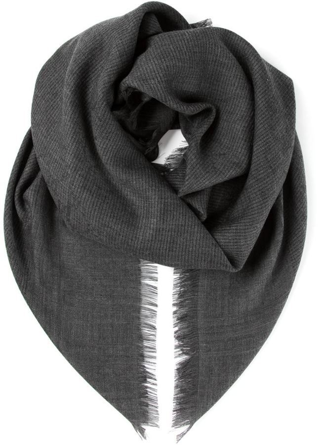 2bec833f141 ... Gucci Ribbed Knit Scarf