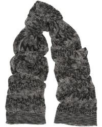 Missoni Metallic Chevron Knit Scarf