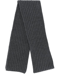 Neil Barrett Ribbed Knit Scarf