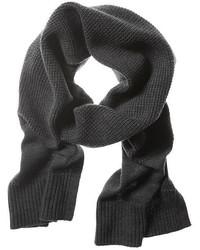 Waffle Knit Extra Fine Merino Wool Scarf