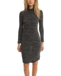 Knit turtleneck dress medium 3639101