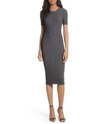 Stardust rib knit sheath dress medium 5209446
