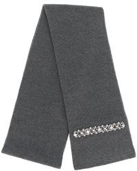 No.21 No21 Embellished Knit Scarf