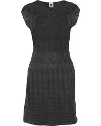 Crochet knit cotton blend dress medium 318346