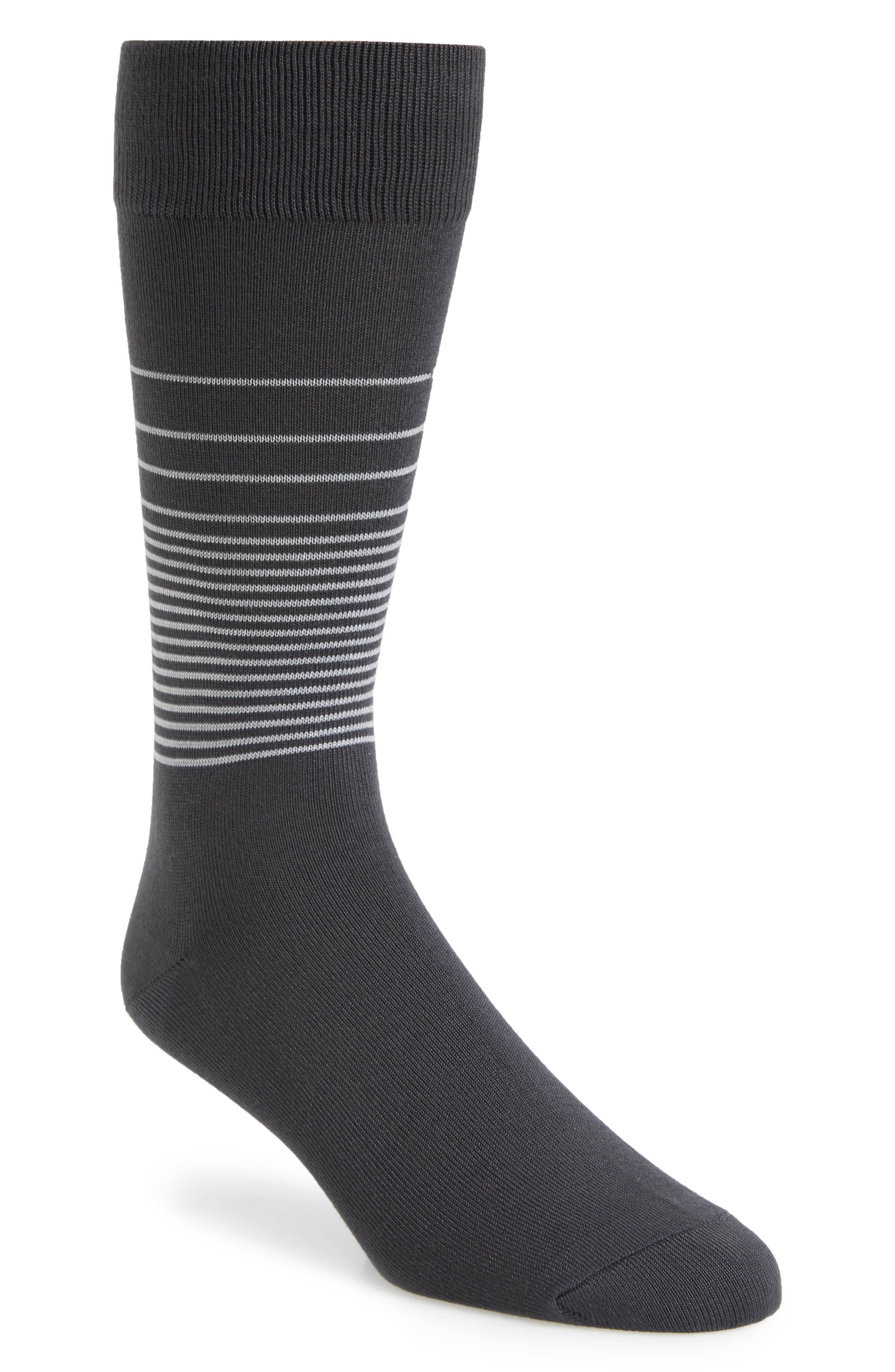 Nordstrom Men's Shop Ombre Stripe Ultrasoft Socks