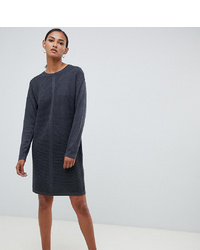 Asos Tall Asos Design Tall Eco Knitted Mini Dress In Ripple