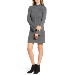 Bell sleeve knit sweater dress medium 827841
