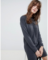 ASOS DESIGN Eco Knitted Mini Dress In Ripple