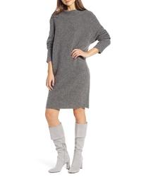 Something Navy Horizontal Sweater Dress