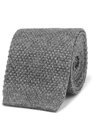 Loro Piana 6cm Knitted Cashmere And Silk Blend Tie