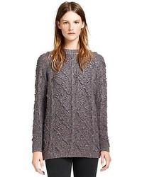 Charcoal Knit Tunic