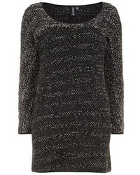 Dorothy Perkins Izabel London Grey Knitted Bodycon Tunic