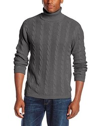 Alex Stevens Cable Turtleneck Sweater