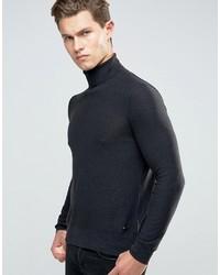 Boss Orange By Hugo Boss Akrol Roll Neck Sweater Slim Fine Knit