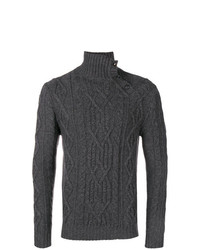 Al Duca D'Aosta 1902 Cable Knit Turtleneck Sweater