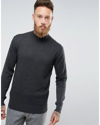 French Connection Cotton Turtle Neck Jumper