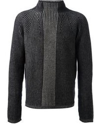 Jil Sander Ribbed Roll Neck Sweater