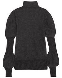Knitted turtleneck sweater anthracite medium 5258794