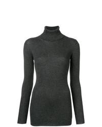 Roll neck ribbed sweater medium 8444426